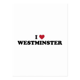 Amo Westminster Colorado Postales