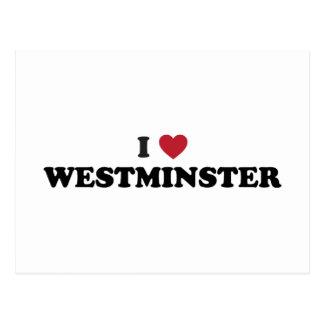 Amo Westminster Colorado Tarjetas Postales