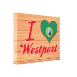 Amo Westport, Washington Lona Estirada Galerías