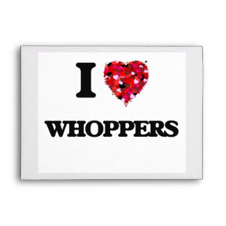 Amo Whoppers Sobres