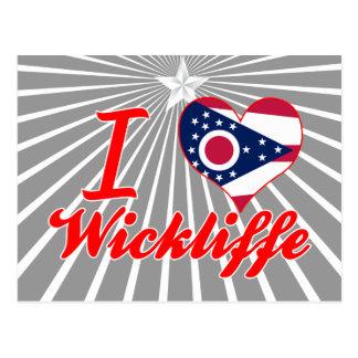 Amo Wickliffe, Ohio Tarjetas Postales