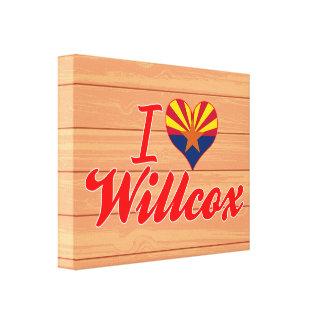 Amo Willcox, Arizona Lienzo Envuelto Para Galerias