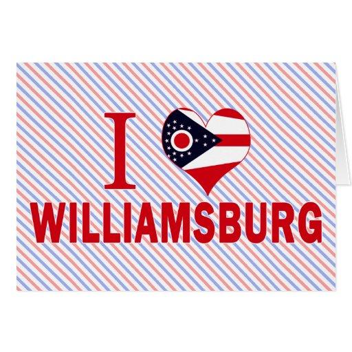 Amo Williamsburg, Ohio Tarjetas