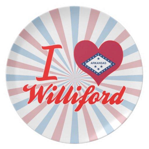 Amo Williford, Arkansas Platos Para Fiestas