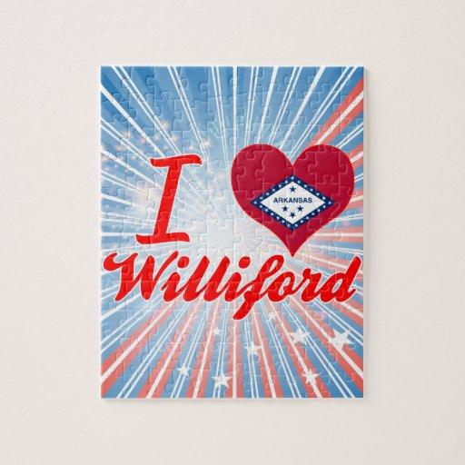 Amo Williford, Arkansas Rompecabezas