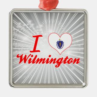Amo Wilmington, Massachusetts Ornamentos De Navidad