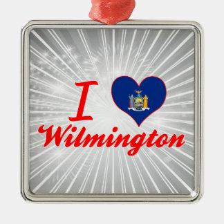 Amo Wilmington, Nueva York Adorno Para Reyes