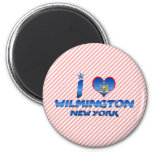 Amo Wilmington, Nueva York Imán De Frigorífico