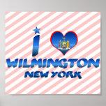 Amo Wilmington, Nueva York Poster