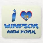 Amo Windsor, Nueva York Alfombrilla De Ratones
