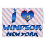 Amo Windsor, Nueva York Felicitación