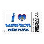 Amo Windsor, Nueva York Franqueo