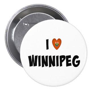 Amo Winnipeg Pin Redondo 7 Cm
