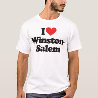 Amo Winston-Salem Playera