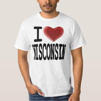 Amo WISCONSIN Remeras