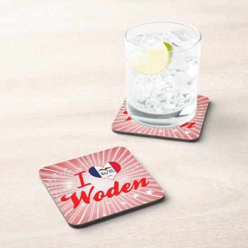 Amo Woden, Iowa Posavasos De Bebida