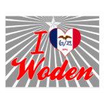 Amo Woden, Iowa Postal