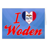 Amo Woden, Iowa Tarjeta