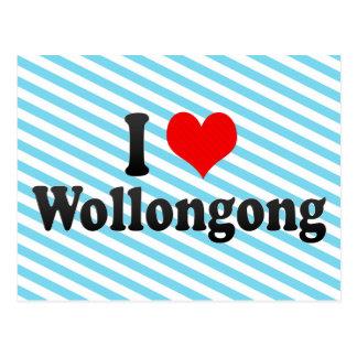 Amo Wollongong, Australia Tarjeta Postal