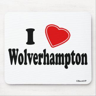 Amo Wolverhampton Alfombrilla De Ratón