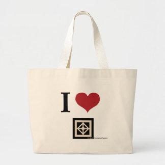 Amo Woodstock (el bolso) Bolsas