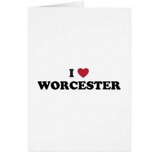 Amo Worcester Massachusetts Tarjeton