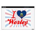 Amo Worley, Idaho 38,1cm Portátil Calcomanía