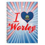 Amo Worley, Idaho Libro De Apuntes