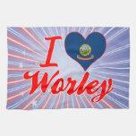 Amo Worley, Idaho Toalla De Cocina