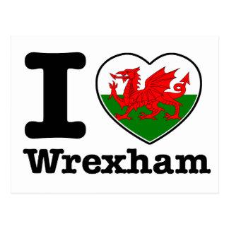 Amo Wrexham Postales