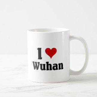 Amo Wuhan, China Taza Clásica