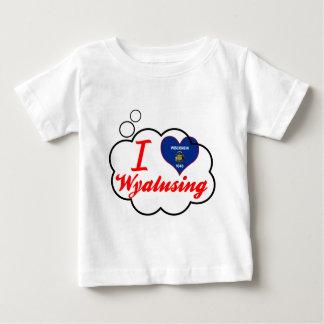 Amo Wyalusing, Wisconsin Camiseta