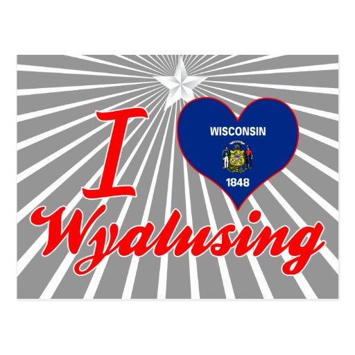 Amo Wyalusing, Wisconsin Postales