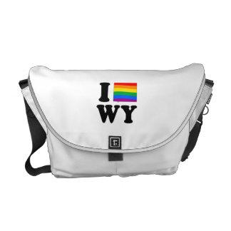 AMO WYOMING GAY BOLSA MESSENGER