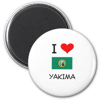 Amo Yakima Washington Imán Redondo 5 Cm