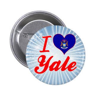 Amo Yale, Michigan Pin