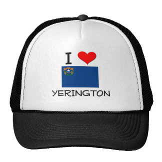 Amo Yerington Nevada Gorros Bordados