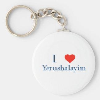Amo Yerushalayim Llavero Personalizado