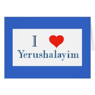 Amo Yerushalayim Felicitación