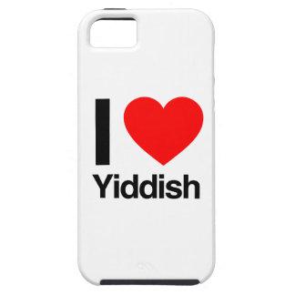 amo yiddish iPhone 5 fundas