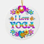 Amo yoga adorno