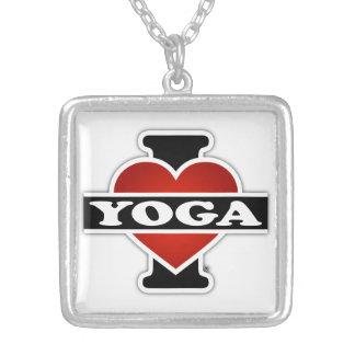 Amo yoga colgante cuadrado