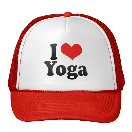 Amo yoga gorras de camionero