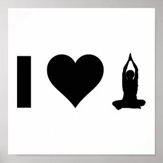 Amo yoga poster