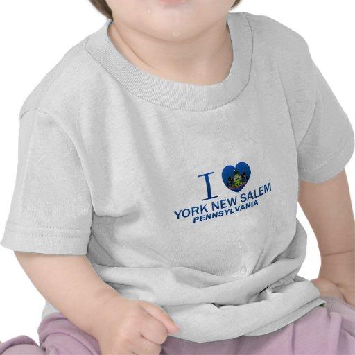 Amo York nueva Salem, PA Camiseta