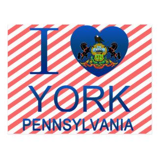 Amo York, PA Tarjetas Postales