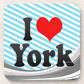 Amo York, Reino Unido Posavasos