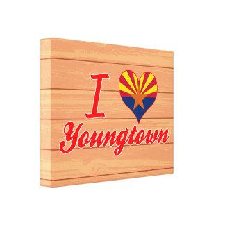 Amo Youngtown, Arizona Lona Envuelta Para Galerías
