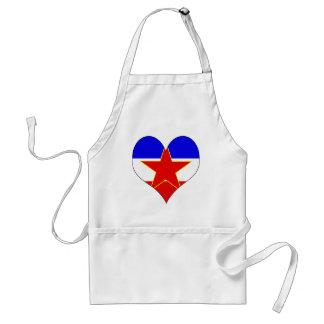 Amo Yugoslavia Delantal