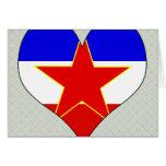 Amo Yugoslavia Felicitaciones